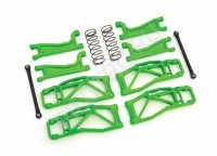 Комплект Suspension kit, WideMaxx™, green (includes front & rear suspension arms, front toe links, rear shock springs) - PILOTRC