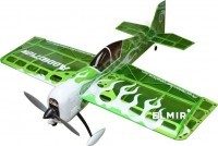 Радиоуправляемый самолет Precision Aerobatics Addiction KIT Green electric 3D ARF - PILOTRC